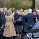 The funeral of Amy-May Robinson