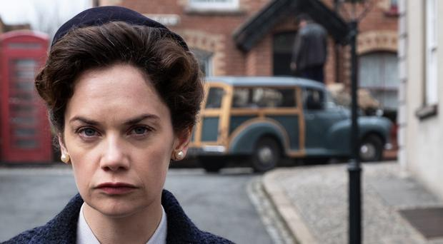 Ruth Wilson as her grandmother Alison in forthcoming BBC drama Mrs Wilson
