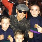 Nonito Donaire meets fans young and old