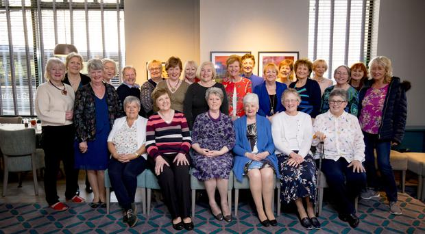 Former nurses meet in Jurys Inn in Belfast