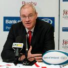 Chief executive officer of Ulster Rugby, Shane Logan