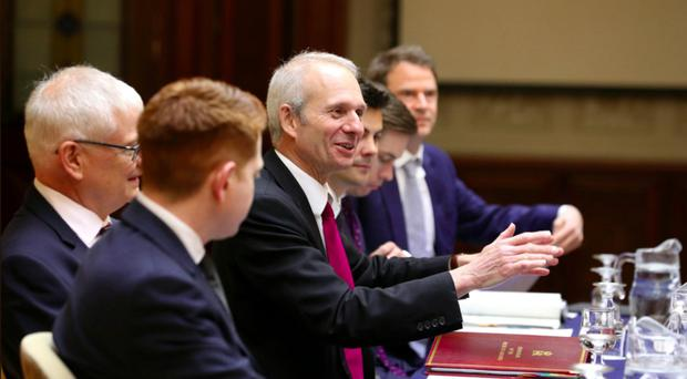 David Lidington travelled to Dundalk and Newry yesterday to hear views on the impact of Brexit on the region