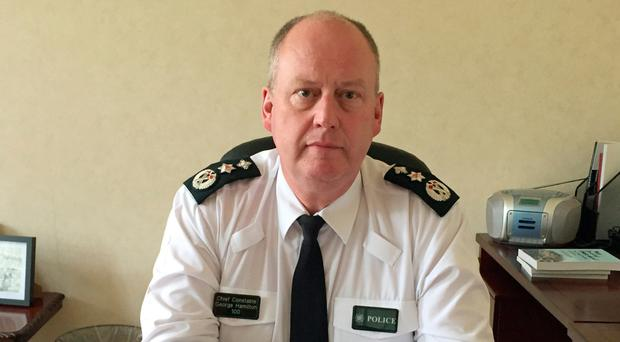 Chief Constable George Hamilton