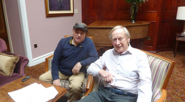 Sir Van Morrison (left) will be in the chair to ask questions of Jazz Club presenter Walter Love