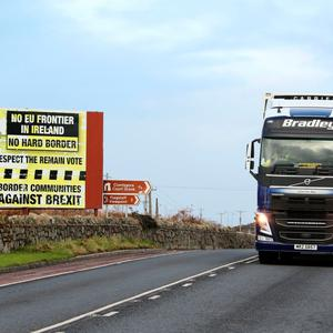 The border issue is still a major talking point in the Brexit debate