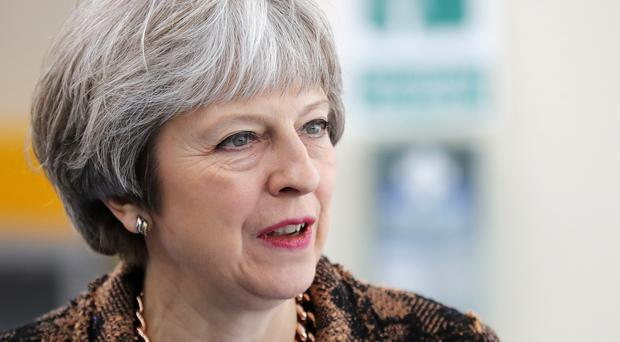 The PM said the peace in Northern Ireland today is 'very much due to the work of our Armed Forces and law enforcement in Northern Ireland' (PA)