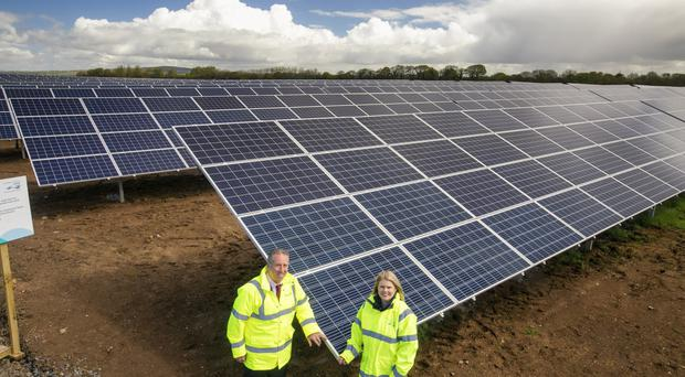 'The green power station is located on a 33-acre site on the eastern shore of Lough Neagh, close to Belfast International Airport'