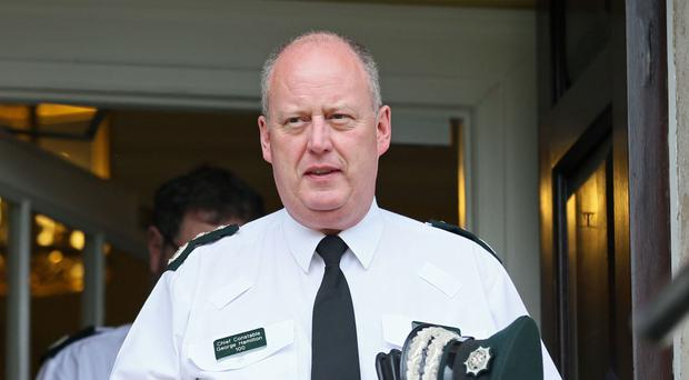 Chief Constable George Hamilton has said people died as a result of bad policing during the Troubles.