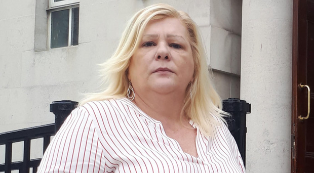 Mary Meehan outside the Court of Appeal in Belfast at an earlier hearing.