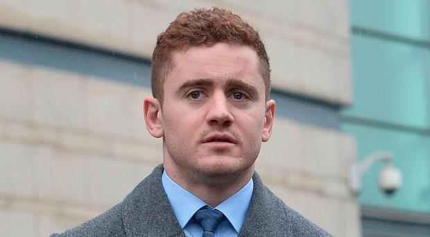 Sacked star: Paddy Jackson