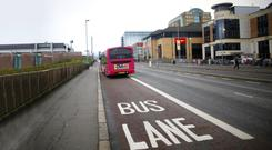 Thousands have been caught in Belfast's bus lanes.