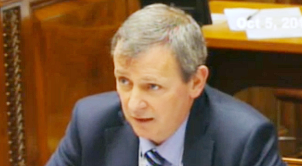 Apology: health department permanent secretary Richard Pengelly