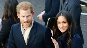 Prince Harry and Meghan Markle are marrying in St George's Chapel (Joe Giddens/PA)