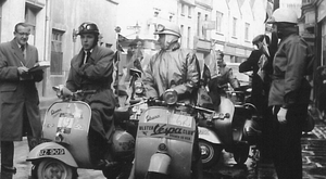 Vintage photos of the Ulster Vespa Club show its popularity