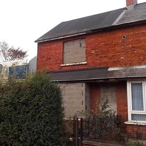 The property in east Belfast was boarded up before its sale