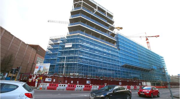 Work is to restart on Ulster University's new £250m Belfast campus