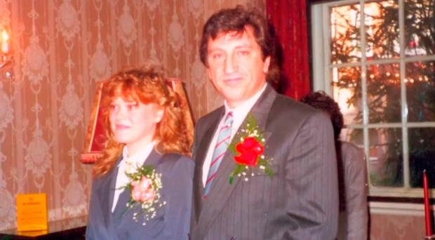 Lost in Grenfell blaze: from left, Tony Disson with his wife Cordelia, who was not a victim