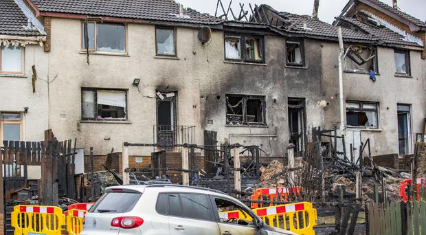 Two sisters whose Co Antrim home was destroyed by a massive blaze have spoken of how grateful they are to the Ballyduff community for the support they have received