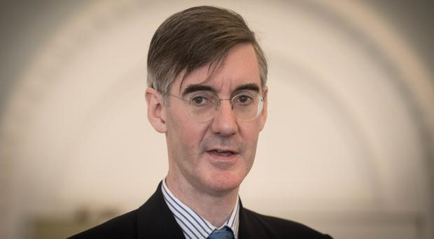 Jacob Rees-Mogg said he was 'saddened' by the referendum result in Ireland (Stefan Rousseau/PA)