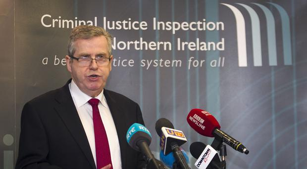 Chief inspector of criminal justice Brendan McGuigan has published a report detailing resettlement efforts at Maghaberry's separated accommodation (Liam McBurney/PA)