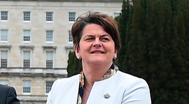 Arlene Foster will address her first Orange Order parade in Scotland next month