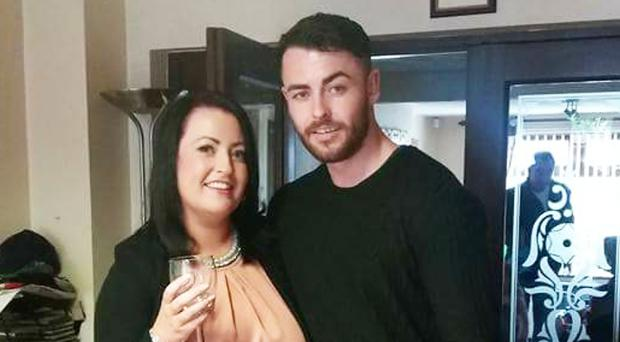 Adam Mairs, who lost an eye after a brutal attack outside a south Belfast pub, and sister Jessica