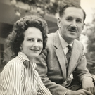 Evelyn Stronge and her dad Sir Norman
