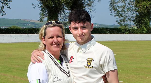 Mum and son Julie and Aidan Logue
