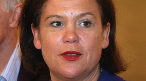 Meeting: Sinn Fein president Mary-Lou McDonald