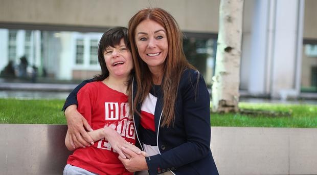 Charlotte Caldwell and her son Billy could apply for a clinical trial as they seek a supply of medical cannabis to treat the 12-year-old's epilepsy (Yui Mok/PA)