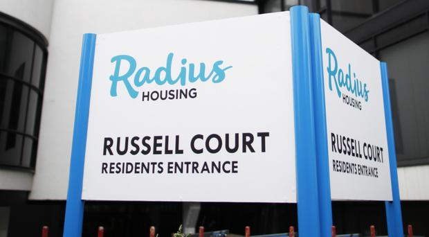 Residents of Radius Housing at Russell Court on the Lisburn Road in Belfast have been told that they will be moved from the tower block within 28 days due to concerns about fire safety. However, many say they are uncertain about where they will be relocated