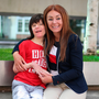 Billy Caldwell with his mum Charlotte Caldwell