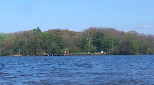 Coney Island on Lough Neagh