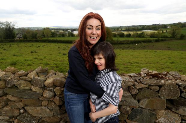 Charlotte Caldwell with her son Billy, who suffers from severe epilepsy