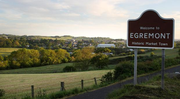 The entrance to Egremont in Cumbria (Andrew Milligan/PA)