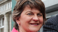 Arlene Foster sent a tweet congratulating the Fermanagh GAA team on making the Ulster Final
