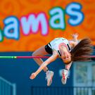 Sommer Lecky of Northern Ireland competes in the 2017 Commonwealth Youth Games