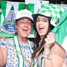 Pauleen and Jodie Taggart from Ederney will be cheering on Fermanagh