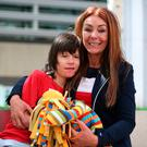 Charlotte Caldwell and her son Billy, who has severe epilepsy
