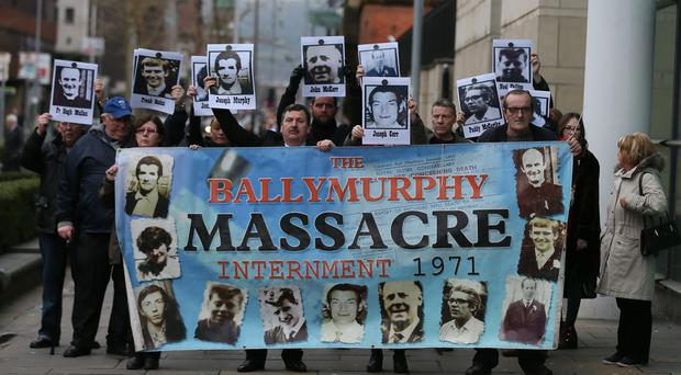 Relatives of those killed in Ballymurphy in 1971