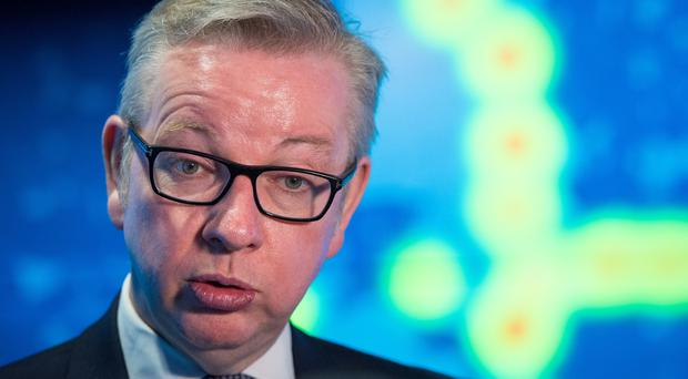Environment Secretary Michael Gove has given evidence to MSPs (Dominic Lipinski/PA)
