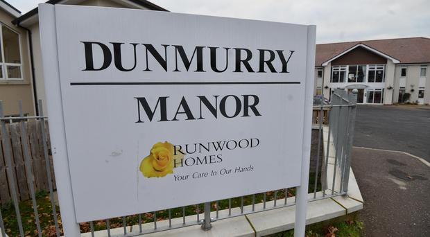 The children of staff at Dunmurry care home are coming home in tears after being told their mothers are