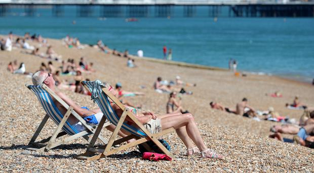 The heatwave looks set to continue across the UK (Andrew Matthews/PA)