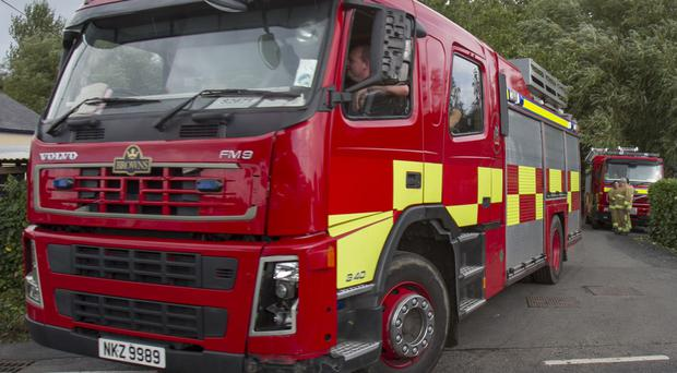 The NIFRS rescued the pensioner from her home.