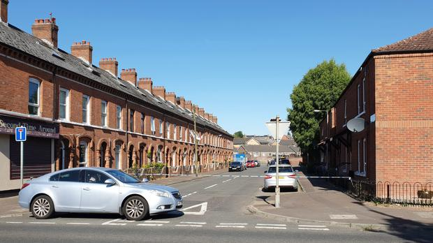 A murder investigation has been launched after the death of a 30-year-old man in Parkmount Street in north Belfast (Rebecca Black/PA)