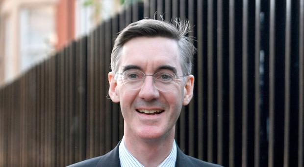 Unlikely choice: Jacob Rees-Mogg