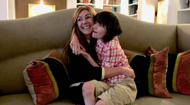 Billy Caldwell with mum Charlotte, who campaigned for her son to be allowed medicinal cannabis
