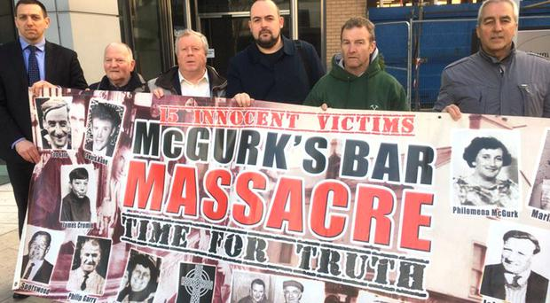 Relatives and campaigners discovered large amount of new evidence not heard at the original inquest (O Muirigh Solicitors/PA)