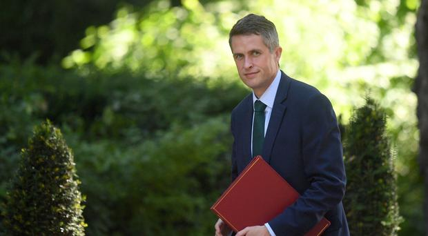 Gavin Williamson said previous legal moves meant a 'de facto' amnesty for terrorists was already in place (Victoria Jones/PA)