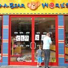 The Build-A-Bear store in Belfast was closed. (Niall Carson/PA)